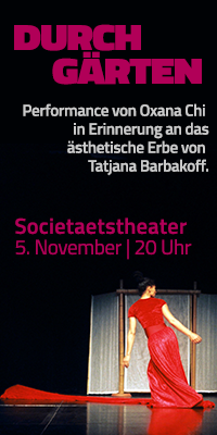 Flyer Societätstheater Dresden